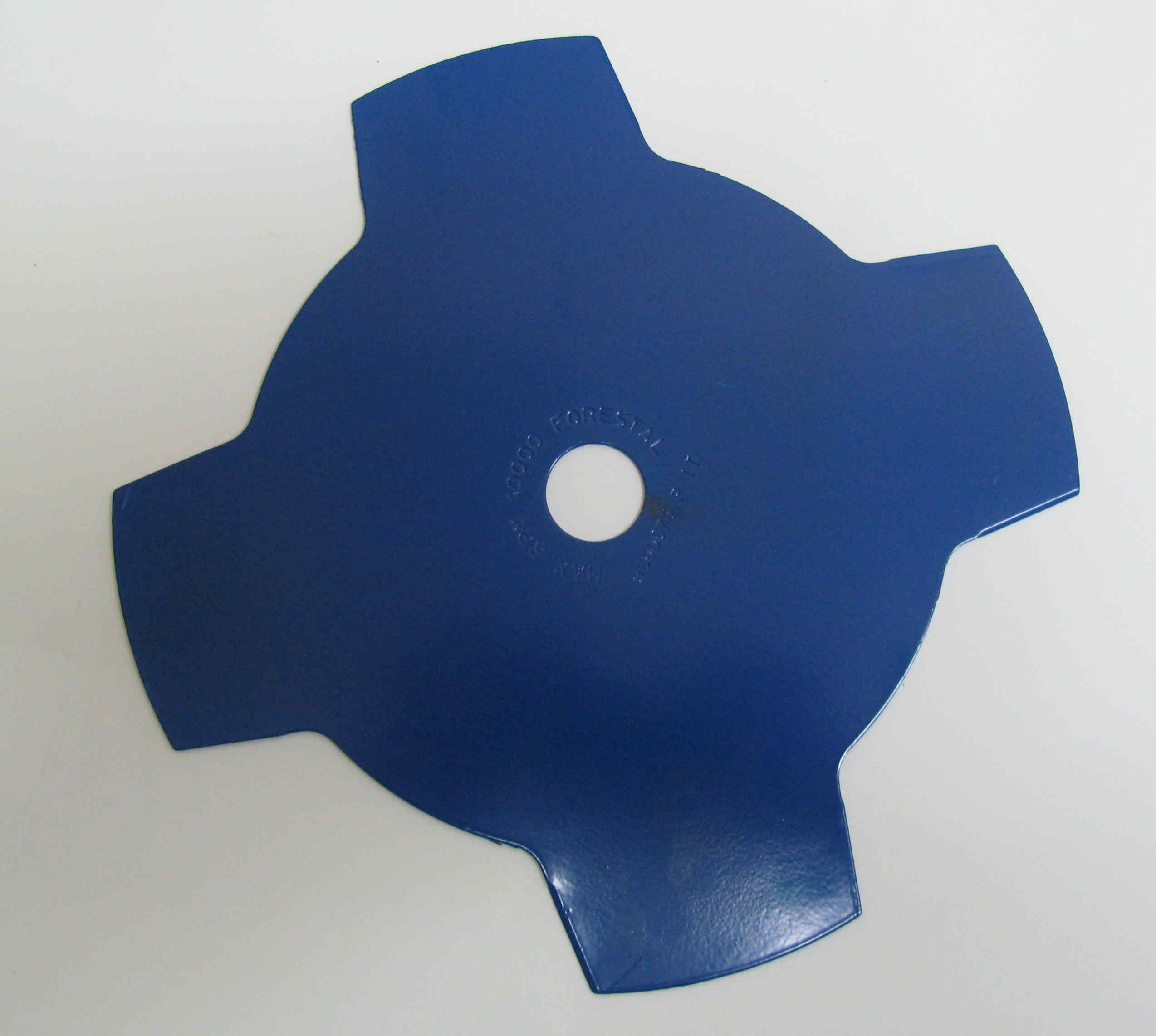 4-tooth 255mm metal brushcutter blade  (25.4mm bore). Free guard.