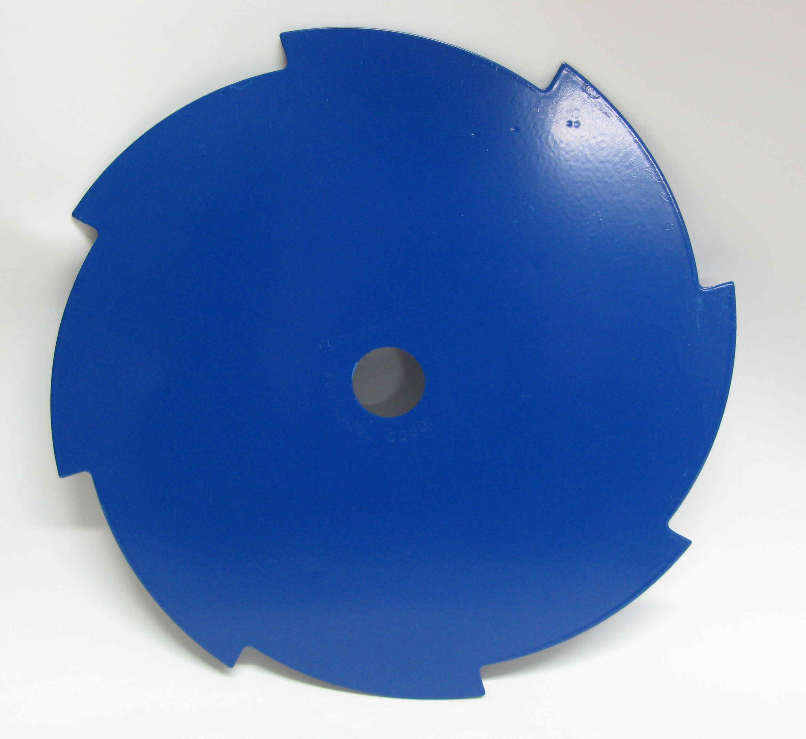 8-tooth 255mm metal brushcutter blade  (25.4mm bore). Free guard.