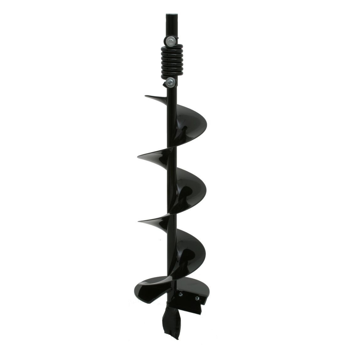 """200mm (8"""") auger, inc. fish tail drill tip and anti-impact spring"""