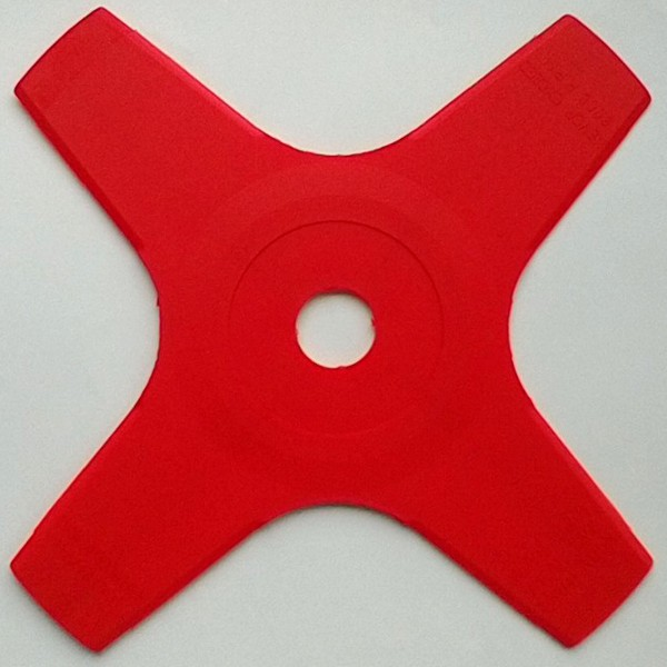 4-tooth 255mm plastic brushcutter blade (25.4mm bore).