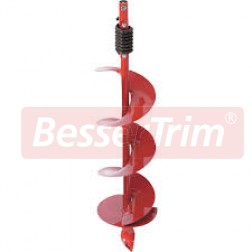 """250mm (8"""") Ardisam auger, inc. fish tail drill tip and impact spring"""