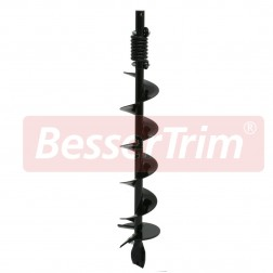 "150mm (6"") auger, inc. fish tail drill tip and anti-impact spring"