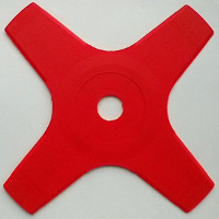 4 tooth 230mm plastic blade